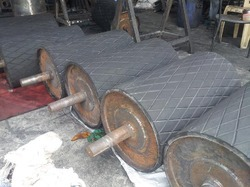 Conveyor Rubber Pulley