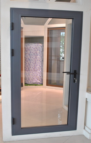 Aluminium Hinged Door & Aluminium Hinged Door Doors And Windows | Singh Brothers ...