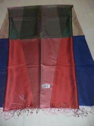 Pure Silk Twill Weave Woven Reversible Box Design Stoles