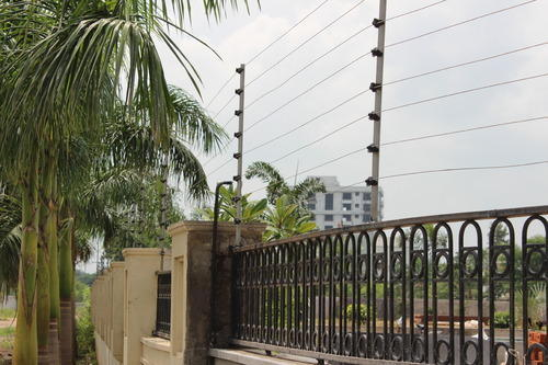 Electric Security Fence Solar Power Fencing System