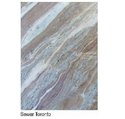 White and Brown Toronto Marble, Thickness: 2CM, for Hardscaping
