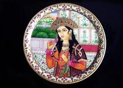 Marble Round Painting