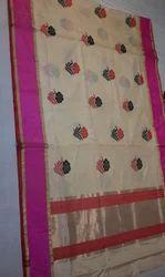 Hand Woven Silk Saree