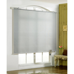 Window White Blinds