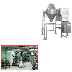 DOUBLE CONE BLENDER FOR CHEMICAL INDUSTRY