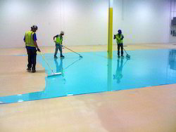 chicago metallic concrete floor showcase usa floorcare polished flooring epoxy il crawfordblue