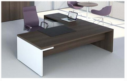 Wooden Office Table Cubicles Office Table Wholesaler from Shrirampur