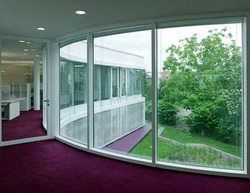 Curved Wall Insulating Glass