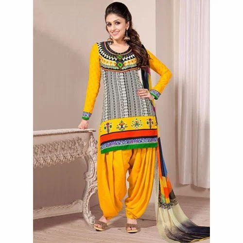 ad1d544a56 Indian Patiala Suit at Rs 500 /piece | Pratap Nagar | Jaipur | ID ...