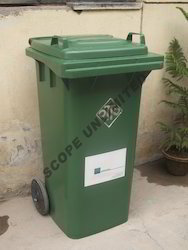 2 Wheeled Mobile Garbage Dustbin