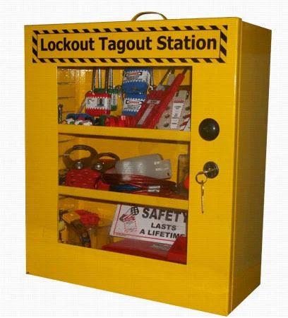 Lockout Tagout Shelf Station Cabinet - Krm Corporation ( Krm Loto ...