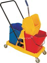 Double Wringer Bucket Trolley