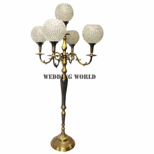 Whole Wedding Golden Candelabra