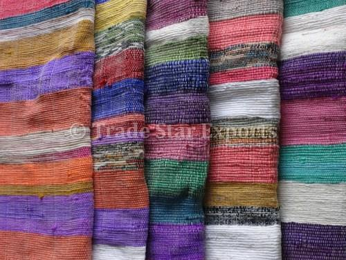 Trade Star Exports Handloomed Dhurrie Rugs Size 120 X