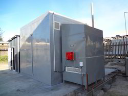 Forced Hot Air Treatment Plant ISPM-15
