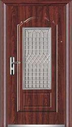 Metal Security Door Steel Safety Doors, For Residential, Size: 3.25 X 7 Feet