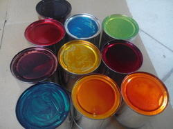 Coloured Lacquer Coatings
