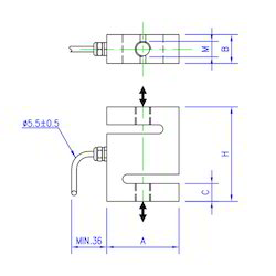Load Cell S Type Universal