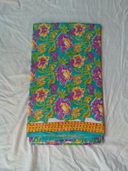 Flower Print Single Bedsheet