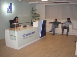 Reception Interior Design in Chennai