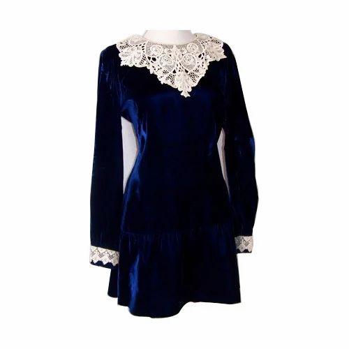ef85b76a5e Velvet Trendy Ladies Kurti, Ladies Dresses, Apparels & Clothings ...