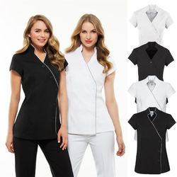 Spa uniform manufacturers suppliers of spa vardi for Spa uniform colors