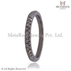 Pave Diamond Eternity Bands Ring