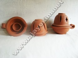 Clay Pooja Dhoop Stands