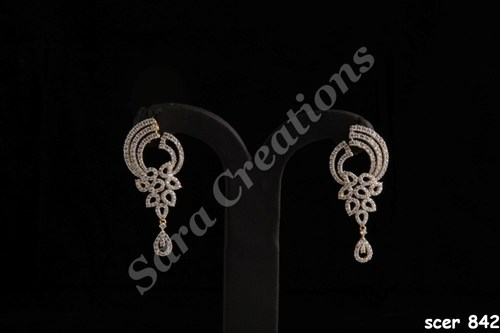 Designer Diamond Earrings View Specifications Details Of
