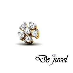 Designer Diamond Nose Pin