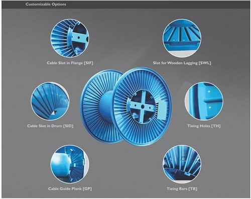 Manufacturer Of Process Drums Amp Take Apart Reels By Ms