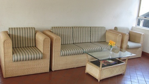 Stupendous Cane Sagara Sofa And Table Set Spiritservingveterans Wood Chair Design Ideas Spiritservingveteransorg