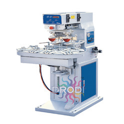 Two Color Rotary Table Pad Printing Machine