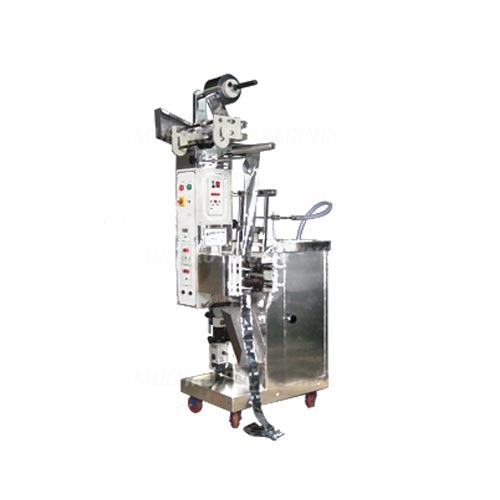Pouch Packing Machine With Volumetric Piston Filler