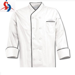 White and Black Chef Coat