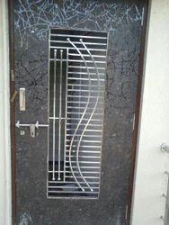 Stainless Steel Door Grill Ss Door Grill Gota Ahmedabad