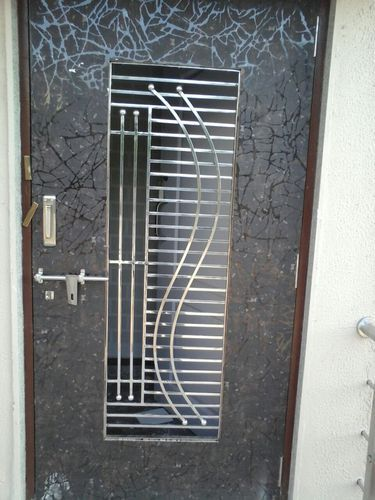 Stainless Steel Door Grill, Stainless Steel Door Grill