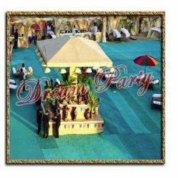 Village Cave Wedding Theme
