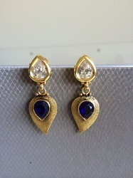 AD Kundan Earrings