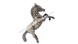 Brass Engraved Victory Horse