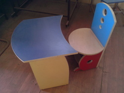 Kids Colorful Table Chair