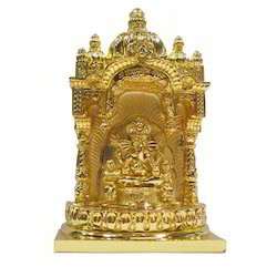 Siddhivinayk Gold Plated Statue