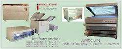 Regular Line Photopolymer Plate Making Equipment