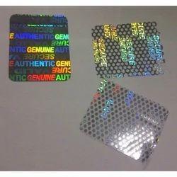 Custom Hologram Seals For PVC Cards