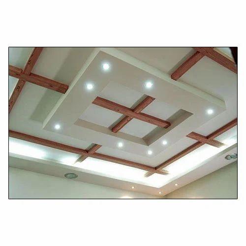 Gypsum False Ceiling Services, Gypsum Ceiling Work ...