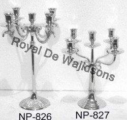 Metal Wedding Candelabra