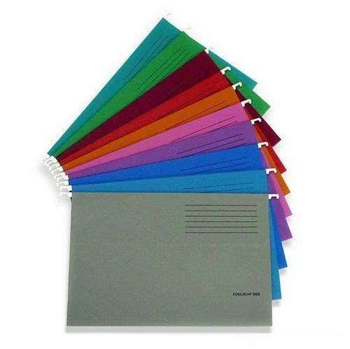 Paper File Folder In Hanging Design Color Shades