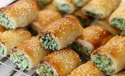 Frozen Palak Cheese Roll