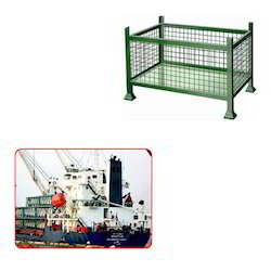 Metal Pallets for Shipping Industries