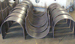 Steel Plate Fabrication, Thickness: 2-10 Mm